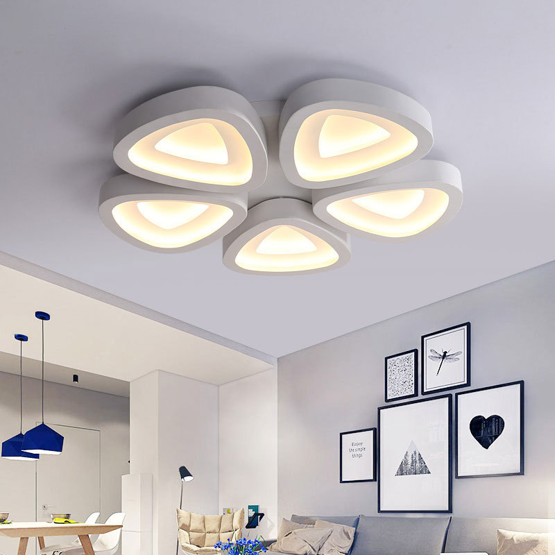 modern led living room led ceiling light acrylic lamp bedroom ceiling lamps lights lamparas de techo plafonnier fixture lighting