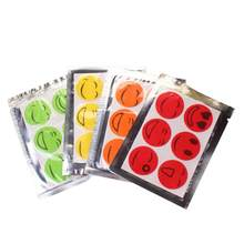 6pcs Portatile Zanzara Autoadesivo Sveglio Sorriso Viso Anti Zanzara Adesivi Zanzara Repellente Per Insetti Patch Set Colore Casuale(China)