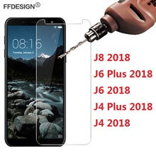 Protective Glass For Samsung Galaxy J4 J6 Plus J8 2018 Tempered Glass On Samsung Galaxy J8 J4 J6 Plus 2018 Screen Protector Foil