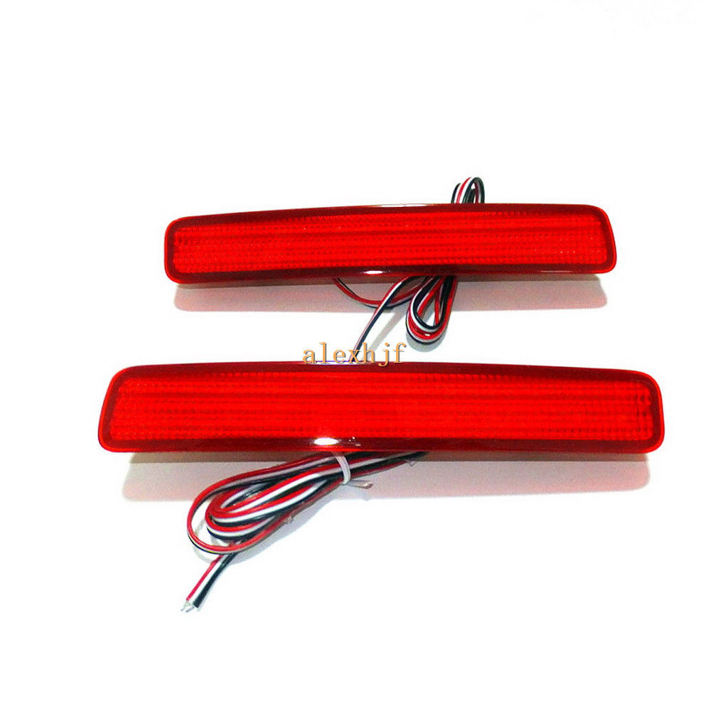 CYAN SOIL BAY Red LED Brake Light Rear Bumper Fog Lamp for Toyota Noah Voxy 80 Prius 40 Series цена