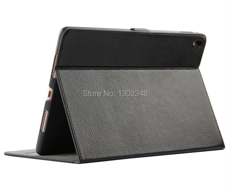 купить New Real Leather Mangetic Closure Stand Case For Apple iPad Pro Air3 Air 3 9.7 inch Tablet Genuine Leather Smart Sleep Cover недорого