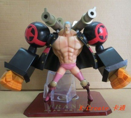 ФОТО Free shipping newest 1pcs one piece Double gun Franky pvc figure toy tall 15cm.1pcs Franky figure for you choose.