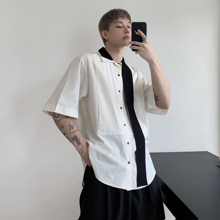 S-6XL! High quality plus-size shirts 2019  New artistic design cotton and linen breathable comfortable short sleeve shirt