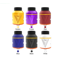 New Desire Mad Dog V2 RDA WithBF Pin For Squonk Mods 24mm Diameter Vape Cigarette Atomizer