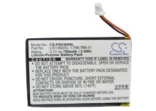 Cameron Sino 750mAh Battery 1 756 769 31, 9702A50844, 9924A60515, LIS1382(S) for Sony PRS 300, PRS 300BC, PRS 300RC, PRS 300SC