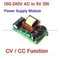 Convertidor AC 100 ~ 240 V/110 V 220 V a CC 5 V 2 W Aislado Unidad de Potencia Módulo de alimentación W CV/CC función de Adaptador de Corriente