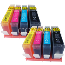 8 Compatible  ink cartridge for hp364 364xl hp Photosmart 5510 B109F 5520 C309 6520 B110 7510 C410 Printer compatible ink cartridges for hp364xl for hp 364 364xl photosmart 5520 6510 6520 7510 b109 b110 b209 c310 c410 printers