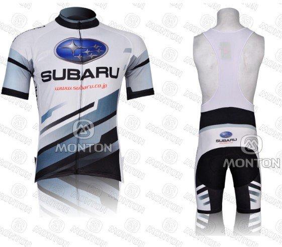 Free Shipping !2012 new tour de france SUBARU team cycling jersey +bib  shorts Size S-XXXL 7295c33c3