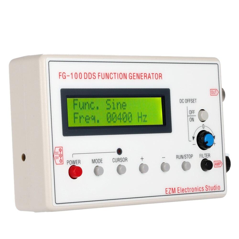 все цены на 1HZ-500KHZ DDS Functional Signal Generator Sine + Square + Triangle + Sawtooth Waveform онлайн