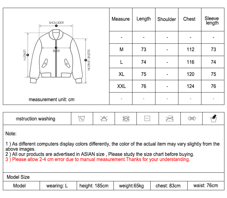 Fashion down jackets