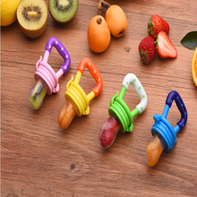 baby Food bite bag pacifier nipple music baby food supplement trainer baby pacifier bite feeding supplies trainning teether-in Pacifier