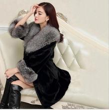 2017 осенние и зимние новые модные высокого класса темперамент Меховой жилет крем старший из меха жилетка