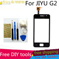 Livre Ferramentas de BRICOLAGE + JY-G2Glass sensor Capacitivo Originais Nova Tela De Toque JIAYU G2 jiayu g2 touch screen digitador Preto