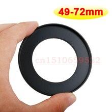 10 шт. 49 мм-72 мм 49-72 мм 49 до 72 Шаг Вверх кольцо фильтра объектива адаптер кольцо с номером отслеживания