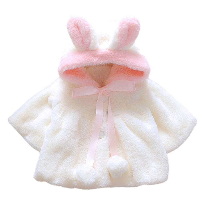 2 Kleuren Peuter Sweatshirts Baby Baby Meisjes Herfst Winter Kapmantel Jas Dikke Warme Kleding Roupa Infantil Duidelijk En Onderscheidend