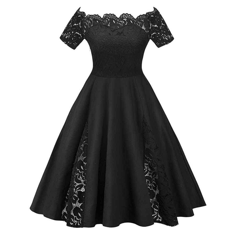 66635e280e Detail Feedback Questions about Wipalo Plus Size Vintage Lace Panel ...