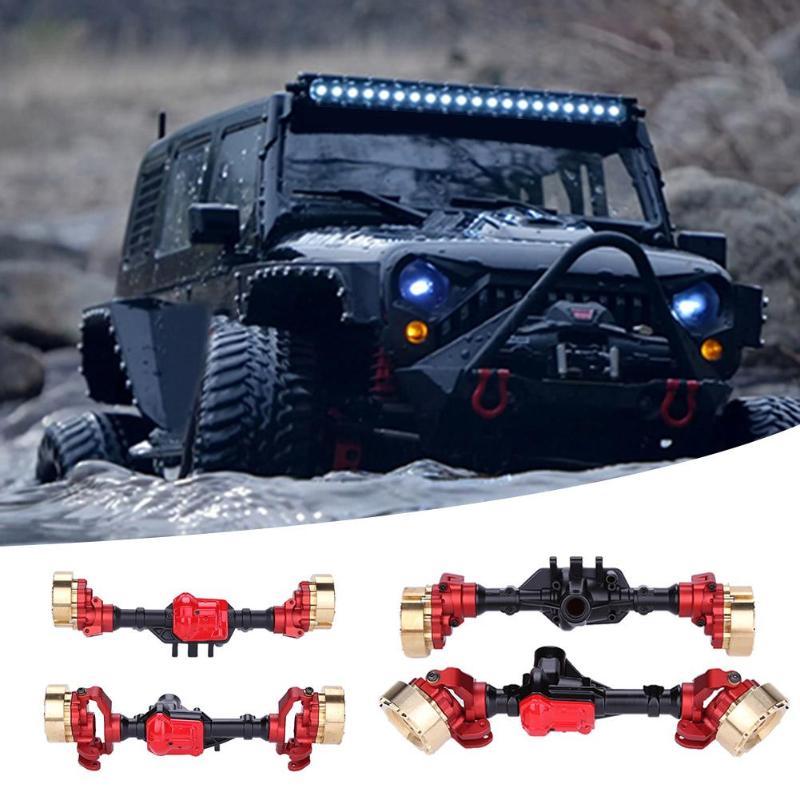 1 ensemble essieu arrière avant en métal Durable pour voiture d'escalade RC Traxxas TRX-4 accessoire pour accessoires de jouets de voiture