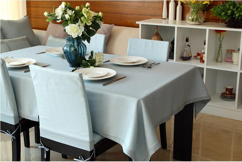Western modern minimalist solid color table cloth coffee tablecloth plaid fashion table cloth customize accept in Tablecloths from Home Garden