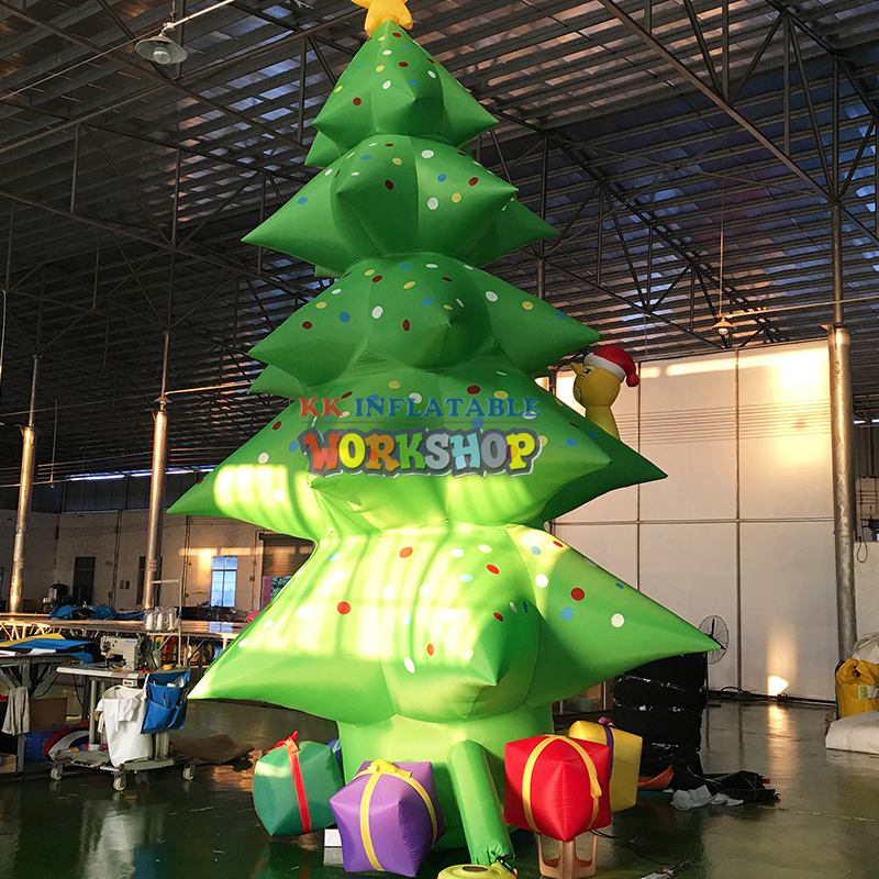 Giant inflatable Christmas Tree Garden Decoration Prop