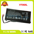 Genuine laptop VT06XL battery For HP HSTNN-DB3F HSTNN-IB3F TPN-I103 VT06 VT06086XL 657240-271 657503-001 657240-151 657240-171