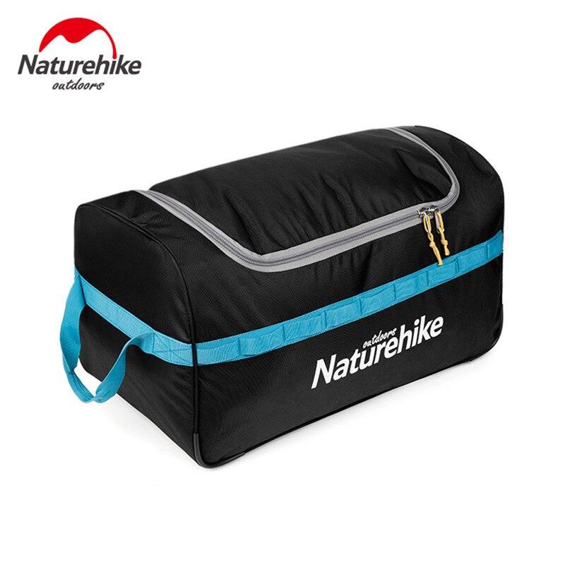 Sacs de rangement pliables de poulie de naturetrekking imperméable à l'eau en plein air voyage équipement de Camping grands sacs de natation portables