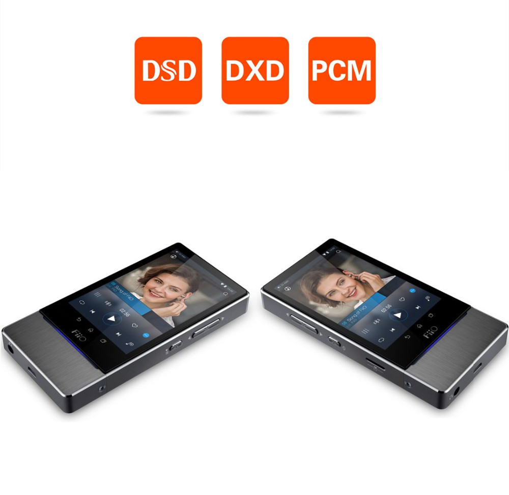 Fiio X7 New flagship lossless music Android PDA Player DXD DSD Player 64bit 384KHz USB DAC