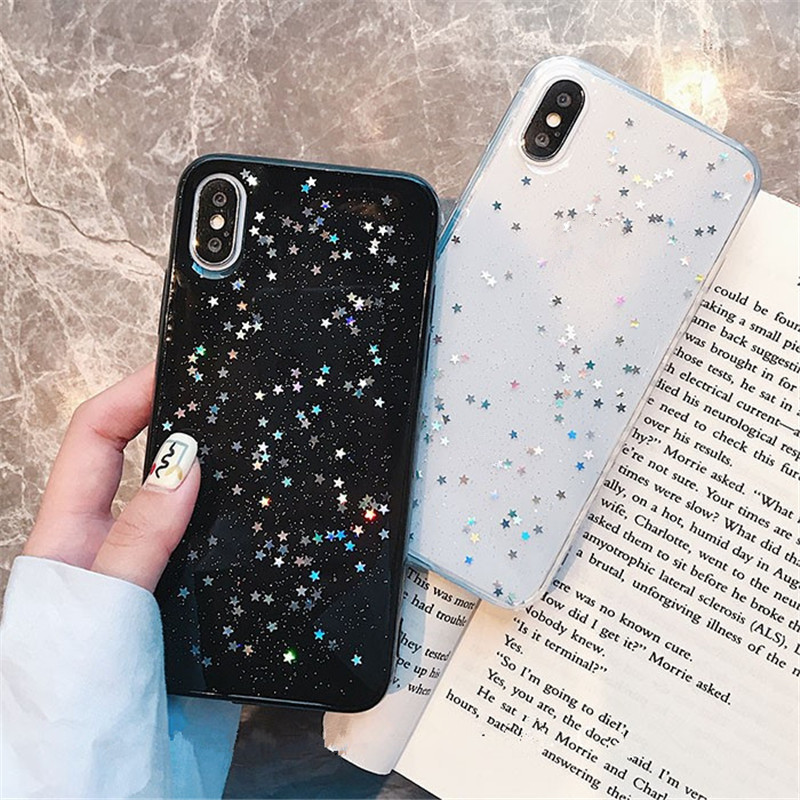 <font><b>Glitter</b></font> star soft <font><b>case</b></font> for <font><b>huawei</b></font> <font><b>p20</b></font> <font><b>Lite</b></font> p30 mate20 pro Nova 2 Plus P8 <font><b>lite</b></font> 2017 P9 P10 <font><b>P20</b></font> <font><b>Lite</b></font> Pro Honor 8X V10 mate 10 <font><b>Lite</b></font> image