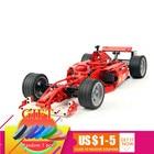 3334 726pcs Technical Series Racers F1 Racer 1:10 Car set Building Model Kids Mini Block Compatible 3334 Toys lepin