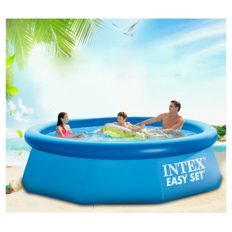 US $48.42 20% OFF|Intex 10ft x30in AGP Inflatable Round Top Ring Inflatable  Family Pool Big Outdoor Adult Swimming Pools-in Pool & Accessories from ...