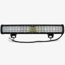 20 inch 12V 126W led work light bar for offroad  trucks tractor ATV spot+flood/combo 4X4 126W led light bar light bar led
