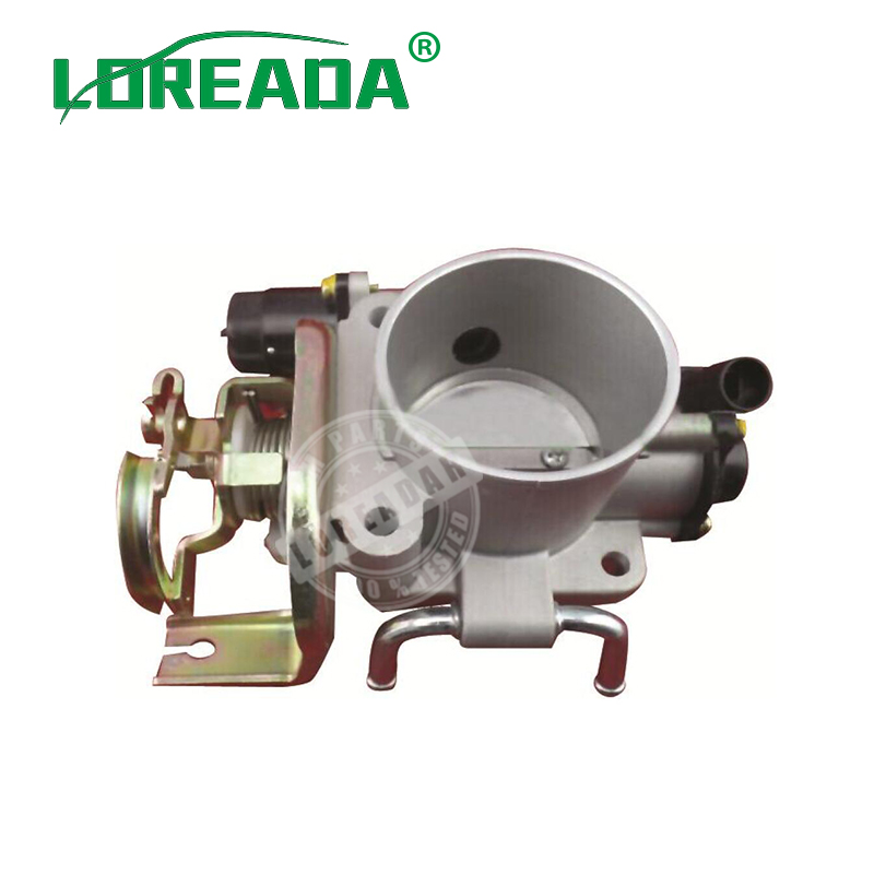 Brand New Orignial Throttle body for HYUNDAI TERRACAN 4G64 DELPHI system Bore Size 55mmThrottle valve assembly 100% Testing new цена
