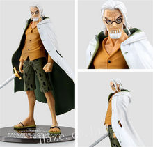 One Piece Silvers Rayleigh Figura PVC Estatueta 17 cm(China)