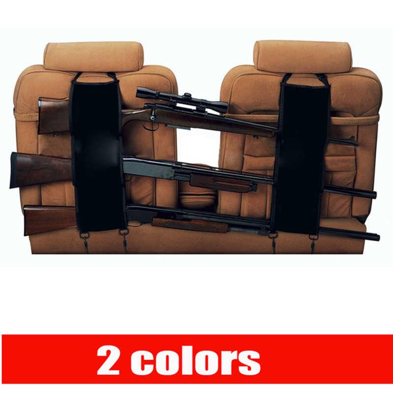 Переднее сиденье задняя Подставка Карманный ружейный ремень ружье стойка камуфляжная подвесная сумка для автомобиля чехлы для ружья винтовка грузовик пикап пистолет слинг