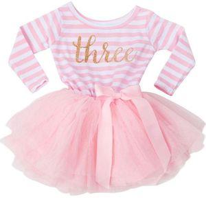 Платье на день рождения для маленьких От 1 до 3 лет, платье для первого дня рождения для маленьких девочек, платье для крещения