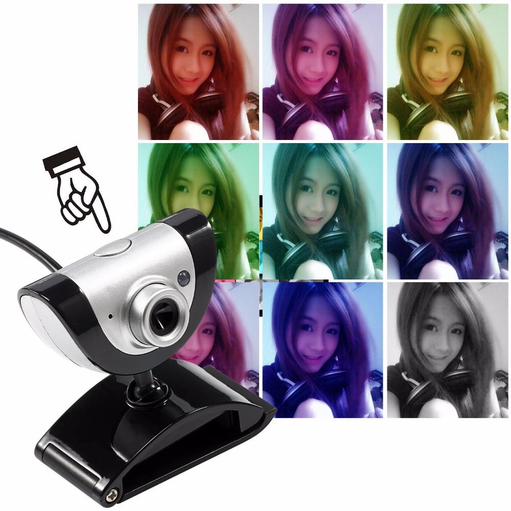 Webcam 16.0 m pixels USB Ordinateur avec un Appareil Photo Intégré HD Microphone Jouer Vidéo web cam hd Pour skype Android TV de bureau
