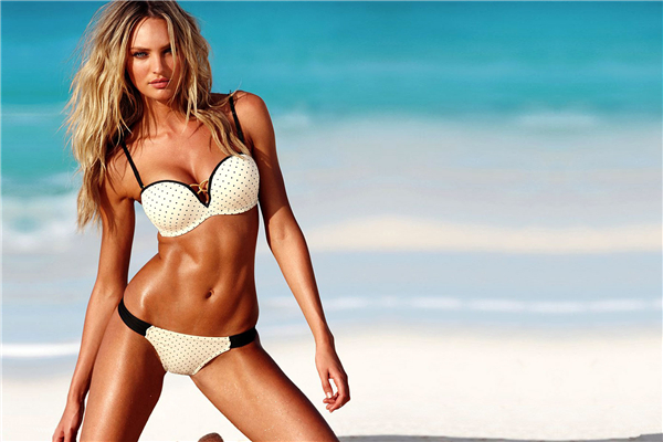 Home Decor Candice Swanepoel Poster Secret Bikini Sexy Girl Posters Model Custom Canvas  ...