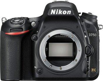 Nikon D750 DSLR Full Frame Digital Camera -24.3MP FX-Format -Full HD 1080p Video -3.2