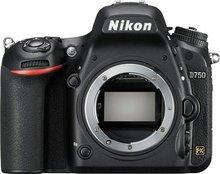 Nikon D750 DSLR Full Frame Digital Camera -24.3MP FX-Format -Full HD 1080p Video -3.2″ Tilting LCD Wi-Fi (Body Only,New)