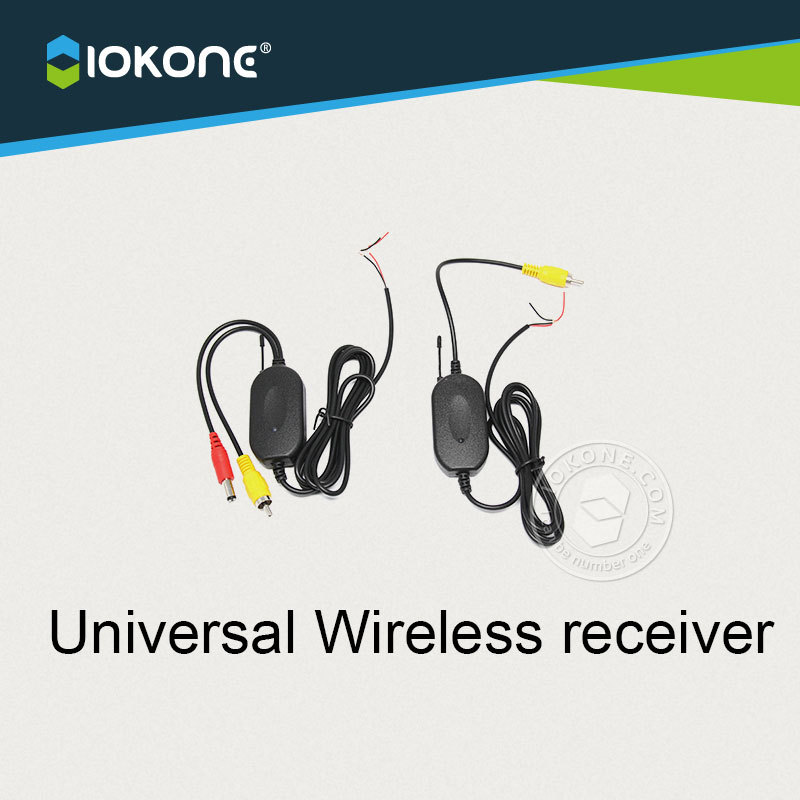 NEW Coming IOKONE WIRELESS Module adapter for Car Reverse Rear View backup Camera cam Parking Assistance