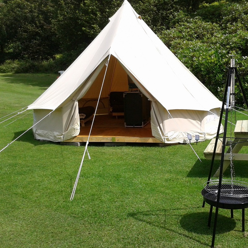 on sale 3270a 48d4a Diameter 4m Outdoor Leisure Camping Canvas Bell Tent Sibley ...