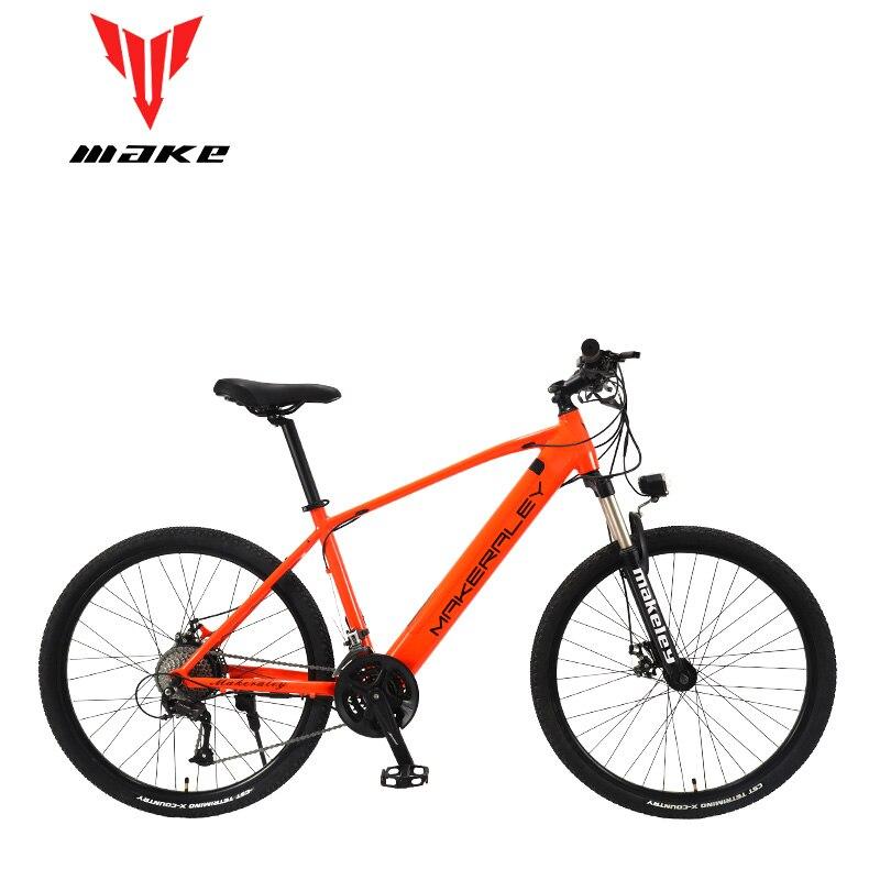 Faire vélo électrique vélo 350W cadre en aluminium 27.5 pouces roues 27 vitesses SHIMAN0 ALТUS