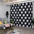 Мультяшные занавески для детской комнаты  Затемненные занавески для гостиной  детской спальни  оконные шторы  балкон