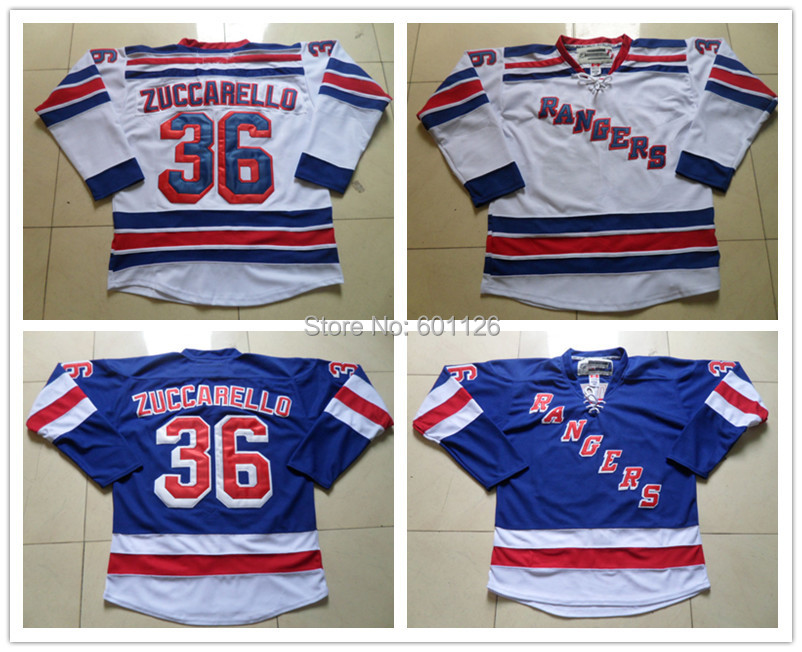 superior quality 09e8b c0e7d New York Rangers Jerseys #36 Mats Zuccarello Jersey Home ...