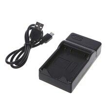 OOTDTY Batterie Ladegerät Für Nikon EN EL14 Coolpix P7000 P7100 D3100 D3200 D5100 D5200