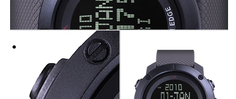 Topdudes.com - North Edge Top Men's Military 50m Water Resistant Digital Sports Watch with Stopwatch & Timer for Running Swimming etc