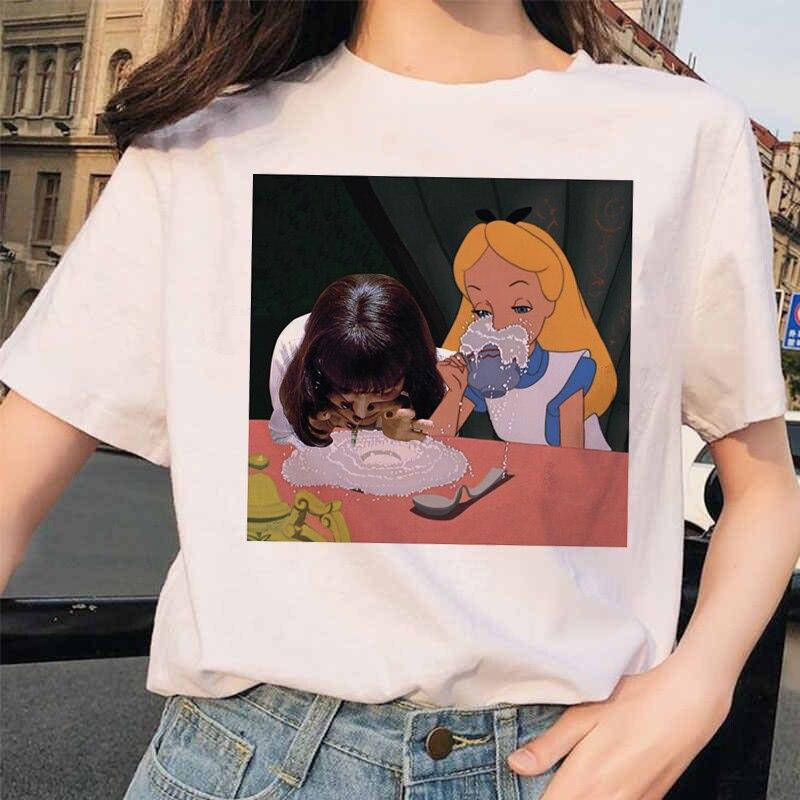 Pulp fiction estético mia 90s ulzzang harajuku filme camiseta streetwear feminino tshirt camisas femme topo camisetas femininas engraçado