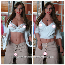 WMDOLL Love Doll 167cm Realistic Silicone Sex Doll Real Full Size TPE Japanese Sexy Adult Toys Masturbate Doll