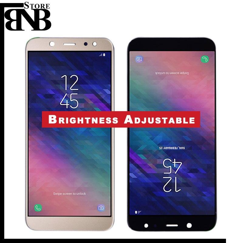 1f4fc8190 Para SAMSUNG Galaxy A6 2018 A600 Display LCD Touch Screen Substituição  Digitador Assembléia parte Para SAMSUNG A6 A600F A600FN LCD