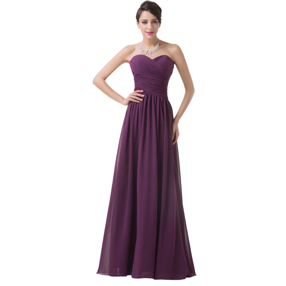 Aliexpress.com : Buy Grace Karin prom dresses 2016 dark purple ...