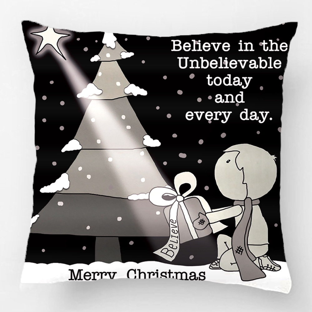 Gift Giver-Merry Christmas Throw Pillow Case Decorative Cushion Cover Pillowcase Customize Gift By Lvsure For Car Sofa Seat